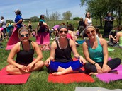 Yoga at Jasper Winery