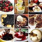 Dessert in USA