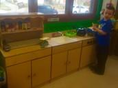 Dramatic Play- Mrs. Tate's Kitchen