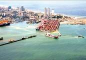 A Sri Lanka port