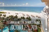 Annual Meeting:  Marco Island, FL