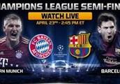 SeMi FiNaL)=)>>Barcelona vs Bayern Munich Live Soccer Stream European Cups 2013 Online TV