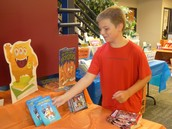 Students love the Monster Book Fair!
