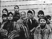Children behind the gates