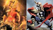 1. How is the comic book superhero Thor different than the original Norse god?