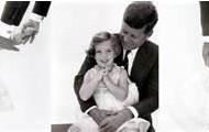 Presdient Kennedy and daughter