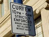 Some people believe that curfews do not work.