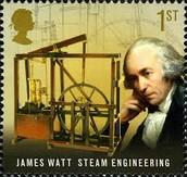 James Watt's first invention