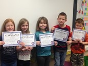 Perfect attendance!