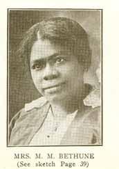 Mary McLeod Bethune (Education)