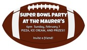 SUPER BOWL PARTY AT THE MAURER'S