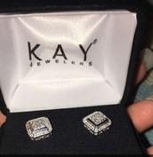 The earrings I got.