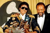 He even holds the record for most Grammy's in one night. He won 8 Grammy's at the 1984 Grammys for his album, Thriller.
