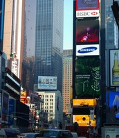 NEW YORK  TIMES SQUARE.