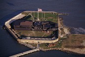 A picture of Fort Sumter today