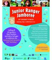Junior Ranger Jamboree Flier in English