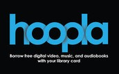 Hoopla has your Audiobooks, Movies, & Music