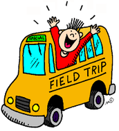 1/29 Past DueDeliverable: Field Trip Monies