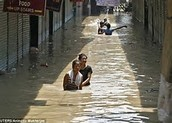 The flooding of india