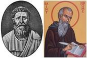 Saint Augustine Saint Jerome