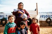Why are Syrian refugee fleeing their homes?