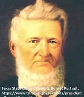 David G. Burnet as a Grown Man