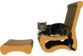 Easy Chair Cat Scratcher