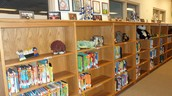 New Shelves @ Wernecke Elementary Library
