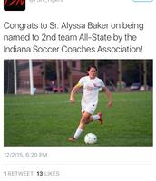 Congrats Miss Baker!