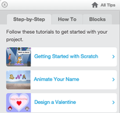 #3: Click the tabs for project ideas!