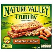 Nature Valley Roasted Almond Crunch Bar VS Almond Joys