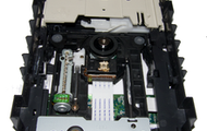 The inside of a optical drive