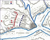 Where and how they went in the battle of Quebec in 1775.