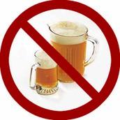 No Pueden Beber                  alcohol