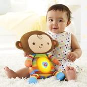 Sleepytime Snuggle Monkey: $20