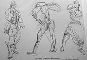 Gesture poses