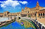 viajando y estudiando en España