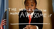 The world would be more awesome if __________.