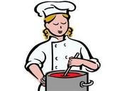 A Hannah le gusta cocinar.