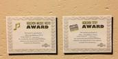 Award Winning Class