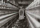 Child in a factory