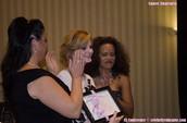 Mrs. Dove, Celebrity Educator Award Recipient