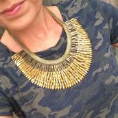 Pegasus Necklace (gold)