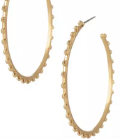 Isadora Hoops $34 Gold or Silver