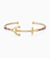 Anchor Voyager Cuff, Gold - $18