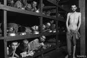 Jews at a concentration camp.