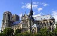 The church of Notre Dame in Paris, France