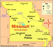 There are many historic sites and places to visit in the state of Missouri!