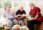 making changes within the care home!