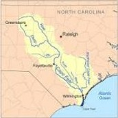 What is New Hanover County's River Basin?